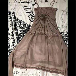 Twenty one heavily beaded dress